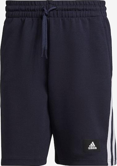 ADIDAS PERFORMANCE Pantalon de sport en bleu nuit / noir / blanc, Vue avec produit