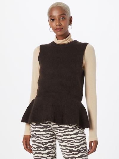 Love Copenhagen Pullover  'Dina' in kastanienbraun, Modelansicht
