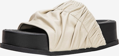 INUOVO Pantolette in beige, Produktansicht