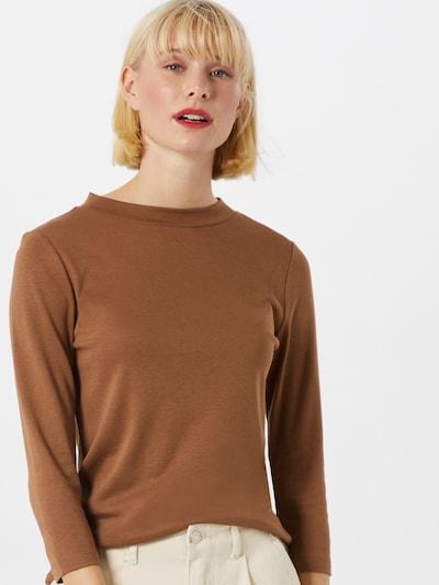 STREET ONE Skjorte i brun, Modelvisning