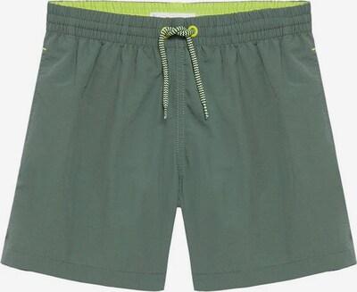 MANGO KIDS Badehose 'Luis' in smaragd / neongrün, Produktansicht