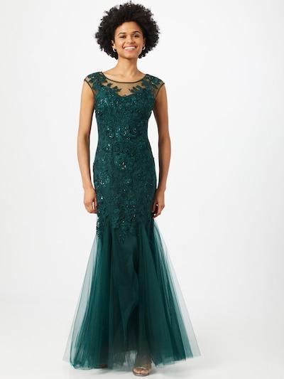 mascara Kleid 'Ivory' in dunkelgrün, Modelansicht