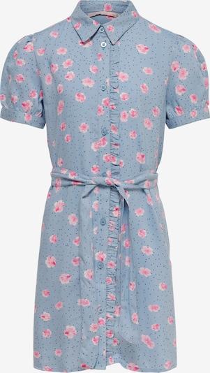 Suknelė 'Claudia' iš KIDS ONLY, spalva – šviesiai mėlyna / tamsiai mėlyna / rožių spalva / šviesiai rožinė, Prekių apžvalga