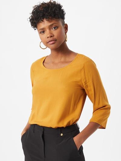 Soyaconcept Chemisier en jaune, Vue avec modèle