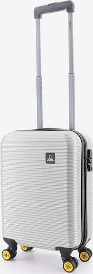 National Geographic Reisekoffer 'Abroad' in silber, Produktansicht