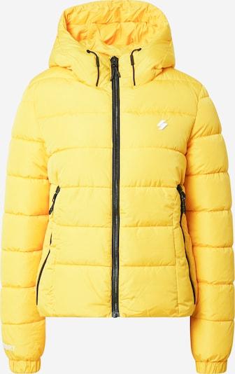 Superdry Jacke in gelb / schwarz / weiß, Produktansicht