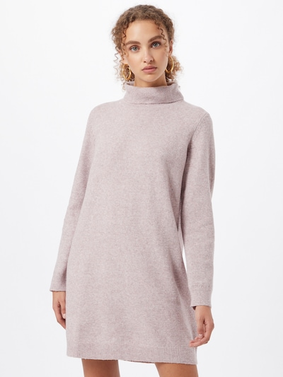 JACQUELINE de YONG Strickkleid in pinkmeliert, Modelansicht