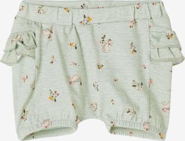 NAME IT Trousers 'Feline' in Green