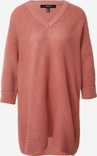 VERO MODA Pullover 'LEANNA' in dunkelpink, Produktansicht