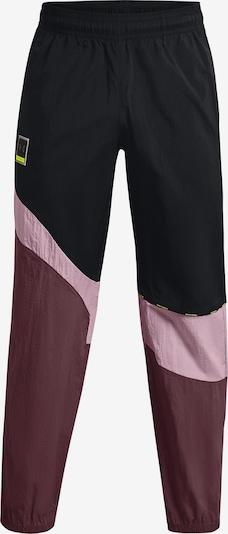 UNDER ARMOUR Hose in pink / schwarz, Produktansicht