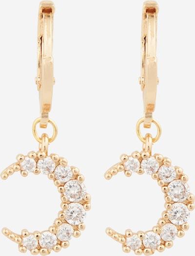 Fräulein Wunder Ohrringe in gold / weiß, Produktansicht