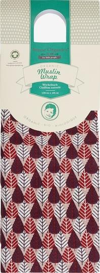 Sense Organics Mullwindel 'VITA Muslin Wrap, 120x120' in dunkelrot, Produktansicht