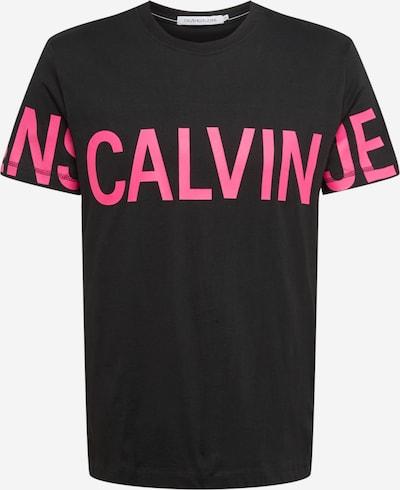 Marškinėliai iš Calvin Klein Jeans , spalva - rožinė / juoda, Prekių apžvalga