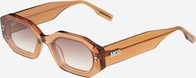 McQ Alexander McQueen Sonnenbrille in dunkelbeige, Produktansicht