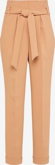 Usha Pantalon à pince en beige clair, Vue avec produit