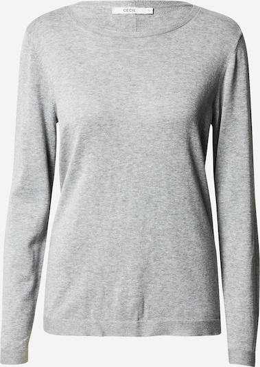 CECIL Pullover in grau: Frontalansicht