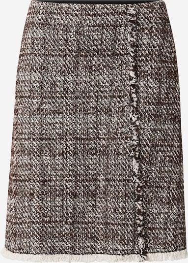 Riani Skirt in mottled beige / Dark brown, Item view