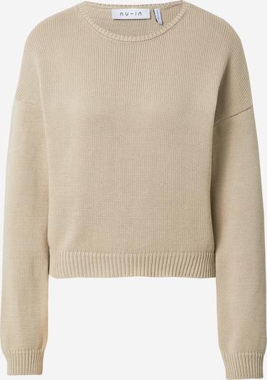 NU-IN Pullover in sand, Produktansicht