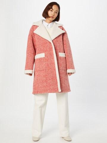 raudona Essentiel Antwerp Demisezoninis paltas 'Alida'