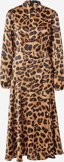 AX Paris Robe en marron / noisette / noir, Vue avec produit