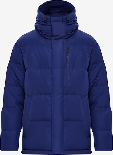 Finn Flare Daunenjacke in blau, Produktansicht