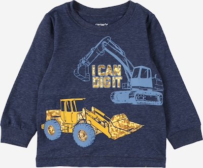 Carter's Shirt in Night blue / Dusty blue / Yellow, Item view
