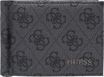 GUESS Geldbörse 'Vezzola' in grau / schwarz, Produktansicht