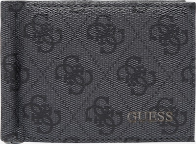 GUESS Несесер 'VEZZOLA' в сиво / черно, Преглед на продукта