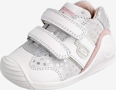 biomecanics Lauflernschuhe in grau / rosa / silber / weiß, Produktansicht