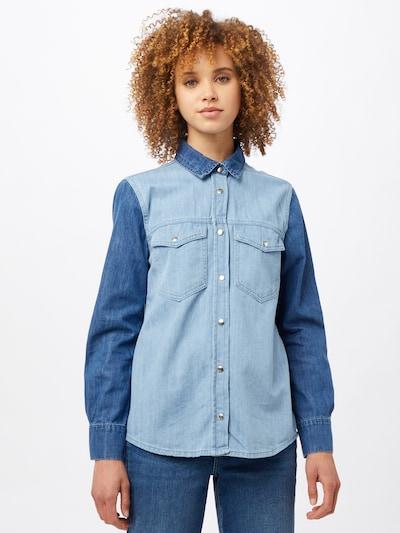 Bluză Trendyol pe albastru deschis / albastru închis, Vizualizare model