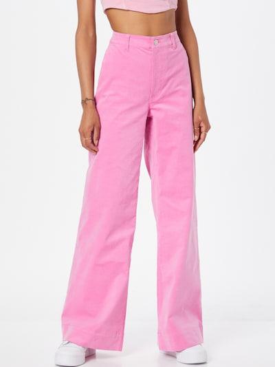 Pantaloni 'Allie' Samsoe Samsoe pe roz deschis, Vizualizare model