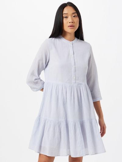 Y.A.S Košeľové šaty 'Famira' - svetlomodrá / biela, Model/-ka