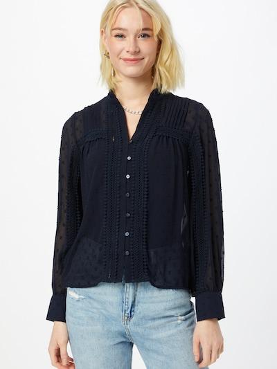 Camicia da donna 'Bailey' ONLY di colore blu scuro, Visualizzazione modelli