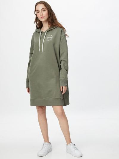 BOSS Casual Kleid 'Ethea' in grün, Modelansicht