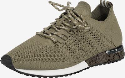 LA STRADA Sneaker in khaki / weiß, Produktansicht