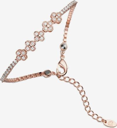 Lunavit Armband 'Lady Line Flower' in rosegold, Produktansicht