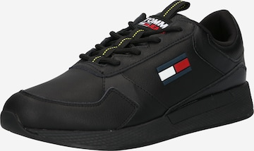 Tommy Jeans Platform trainers in Black