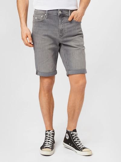 Jeans Calvin Klein Jeans di colore grigio denim, Visualizzazione modelli