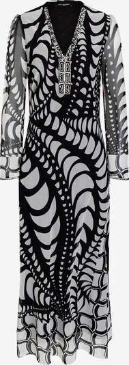 Ana Alcazar Jurk 'Cenca' in de kleur Zwart / Wit, Productweergave