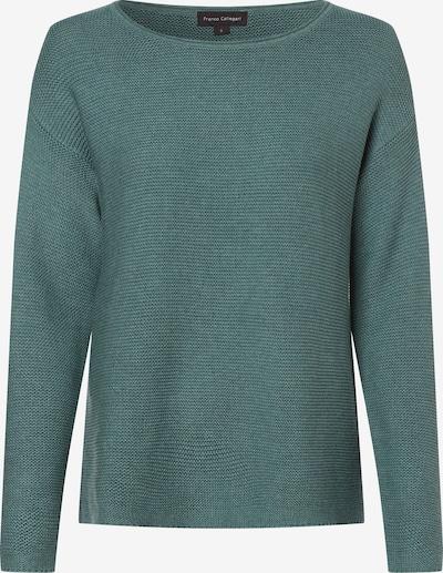 Franco Callegari Pullover in smaragd, Produktansicht