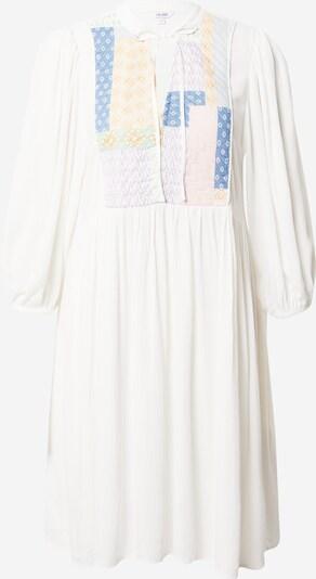 mbym Kleid 'Etienne' in creme / blau / gelb / rosa, Produktansicht