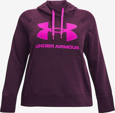 UNDER ARMOUR Hoodie in purpur, Produktansicht