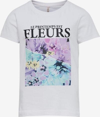 KIDS ONLY Koszulka 'PENELOPE' w kolorze jasnoniebieski / jasnożółty / liliowy / czarny / białym, Podgląd produktu