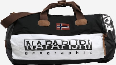 NAPAPIJRI Cestovná taška 'HERING' - hnedá / čierna / biela, Produkt