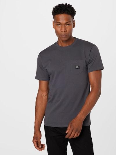 VANS Тениска в антрацитно черно: Изглед отпред