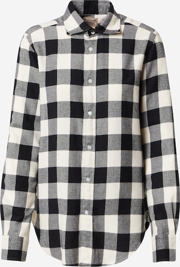 Polo Ralph Lauren Bluse 'GEORGIA' in creme / dunkelgrau / schwarz, Produktansicht