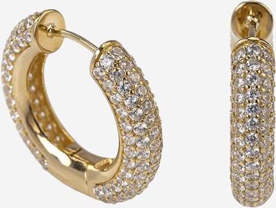 OHH LUILU Ohrringe 'Disco' in gold / transparent, Produktansicht