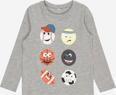 NAME IT Shirt 'NMMHAPPY ARIES' in graumeliert / mischfarben, Produktansicht