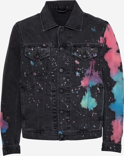 DIESEL Jacke in blau / mischfarben / pink / schwarz, Produktansicht