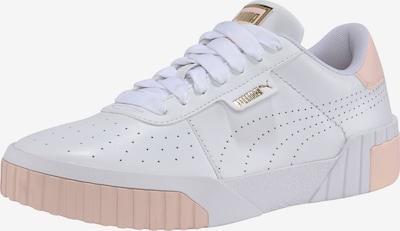 PUMA Baskets basses 'Cali' en or / pêche / blanc, Vue avec produit